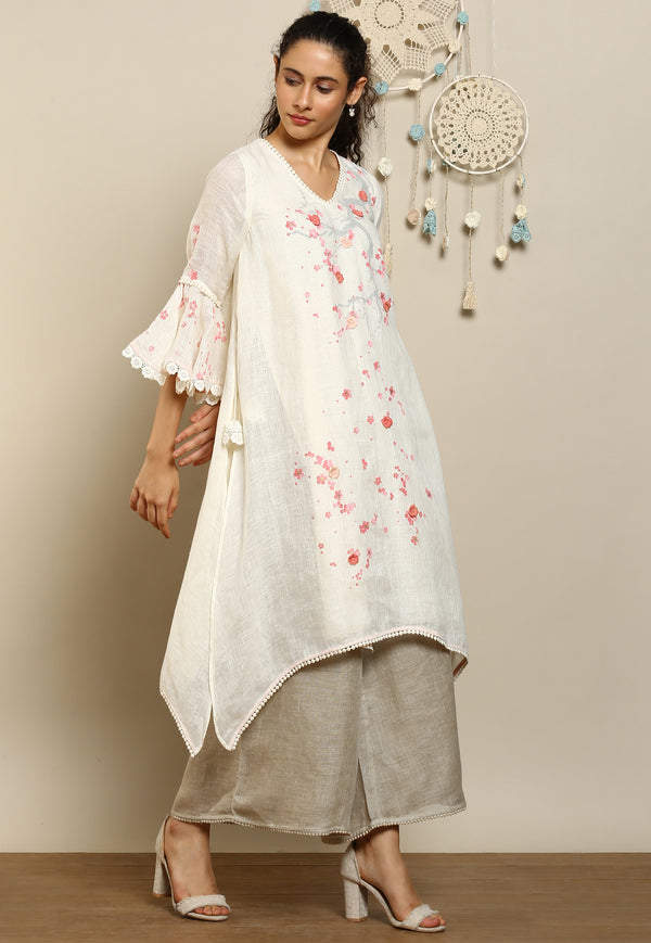 Hanami Ph Tunic Off White-Tunic-KAVERi