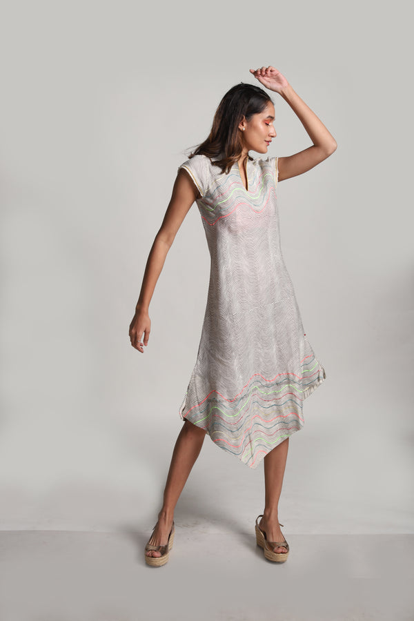 Echo Hanoi Dress White-Dresses-KAVERi