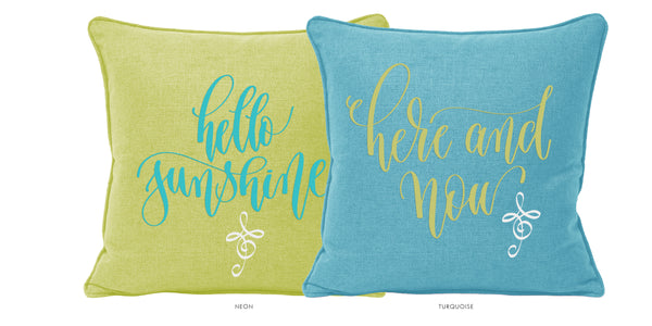 HELLO SUNSHINE | Set of 2 Cushions-Cushion-KAVERi