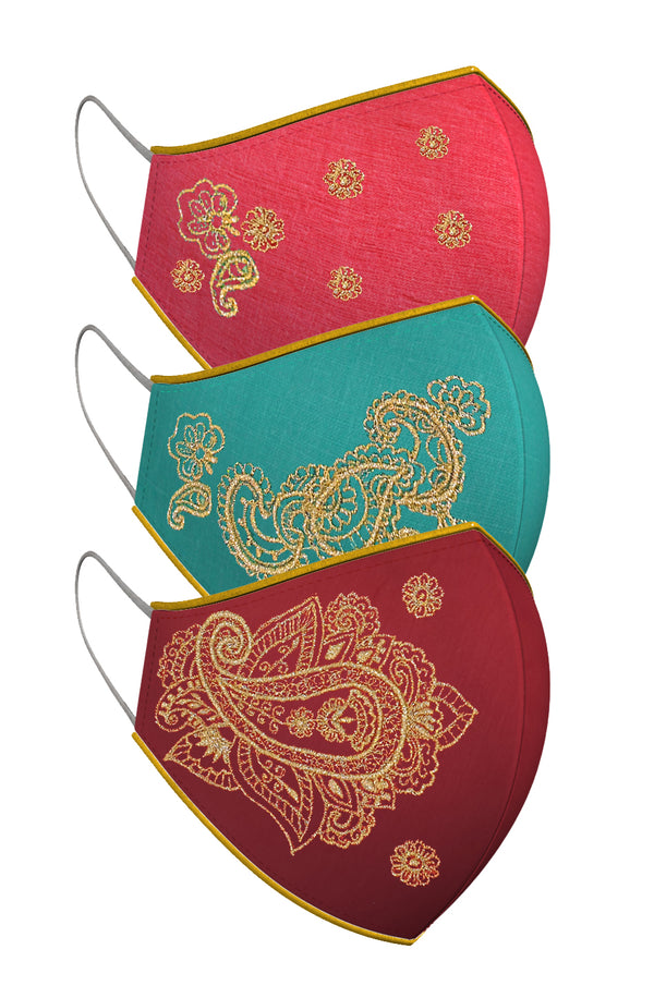 HENNA | Set of 3-Masks-KAVERi