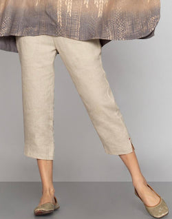 Stylish Staples Natural Pant-Pants-KAVERi