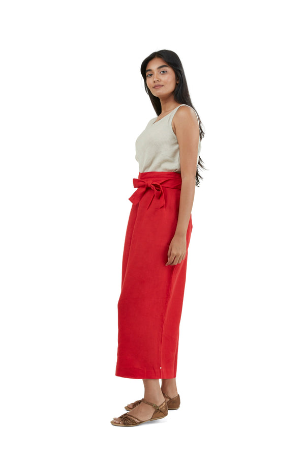 The Pant Story Linda Pants Red-Pants-KAVERi