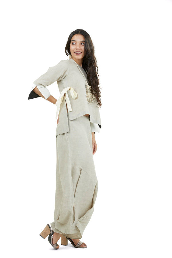 Pants and Top Natural-Co-Ords-KAVERi