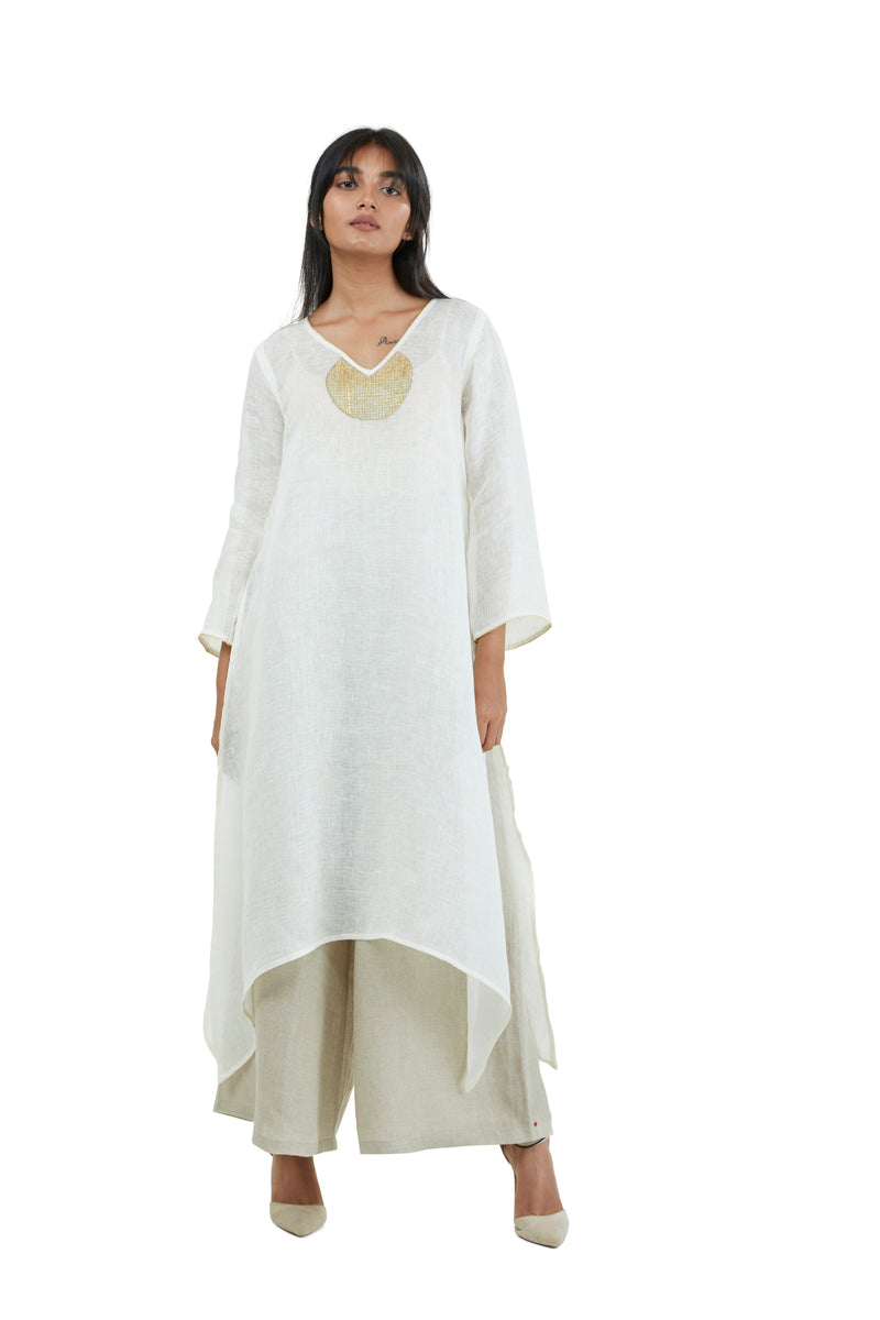 Golden Sun Fly Free Tunic Off White-Tunic-KAVERi