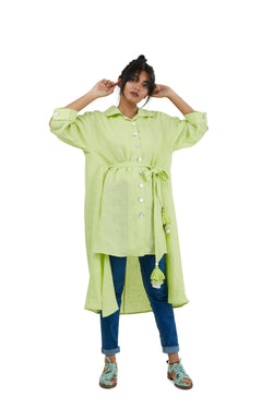 Top Stop Tent Shirt mint-Shirt-KAVERi