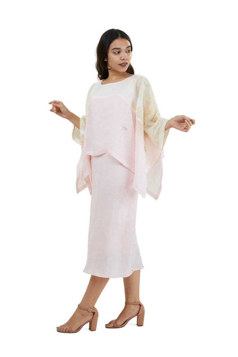 Stephanie Eiffel Maria Dress powder pink-Dress-KAVERi