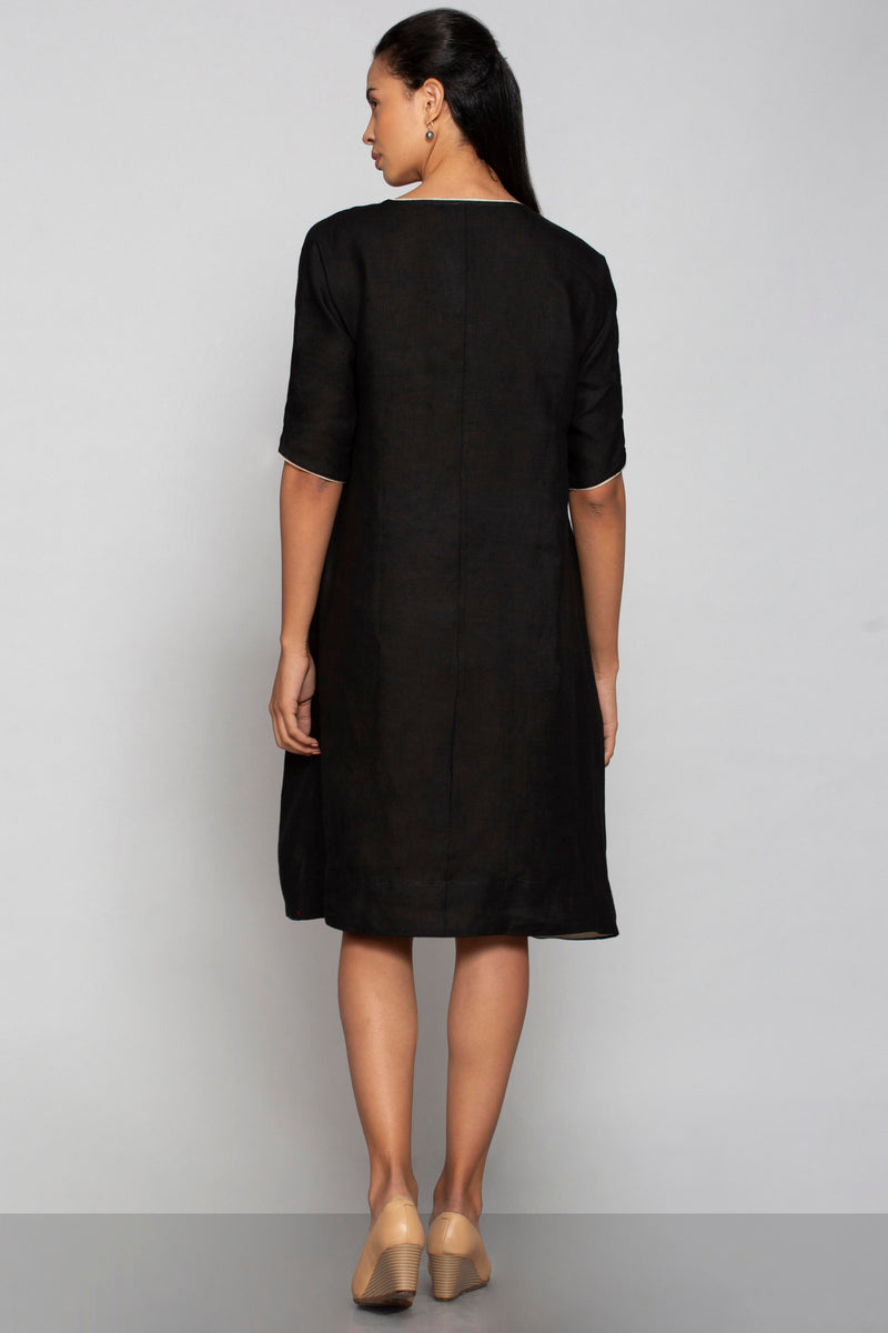 Key to My Heart Jane Dress Black-Dresses-KAVERi