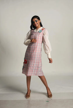 Mary Mary Quite Contrary Mary Shirt And Godey Dress-KAVERi