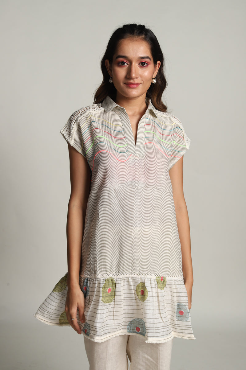 Echo Mouse Top Off-White-Tops-KAVERi