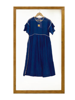 Mayan Magic Dress- Navy-Dress-KAVERi