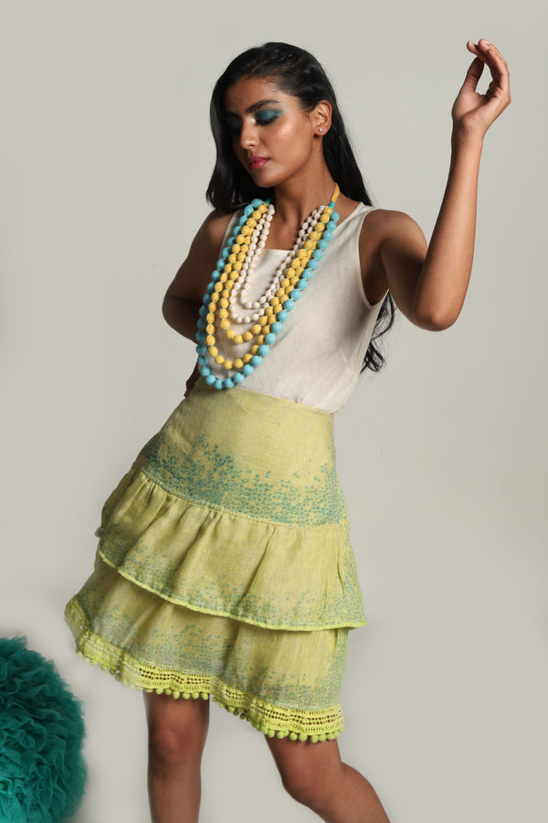Oceans of Love Ocean Skirt Neon-Skirts-KAVERi