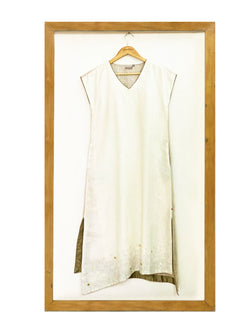 Out of Box Scissor Dress- Off White-Dress-KAVERi