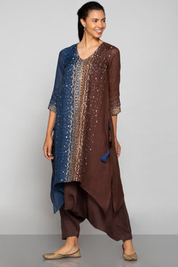 Rubix Fly Free Tunic Navy and Choco-Tunics-KAVERi