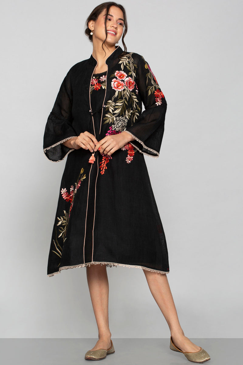 Secret Garden Rizo Jacket and Solane Black-Jackets-KAVERi