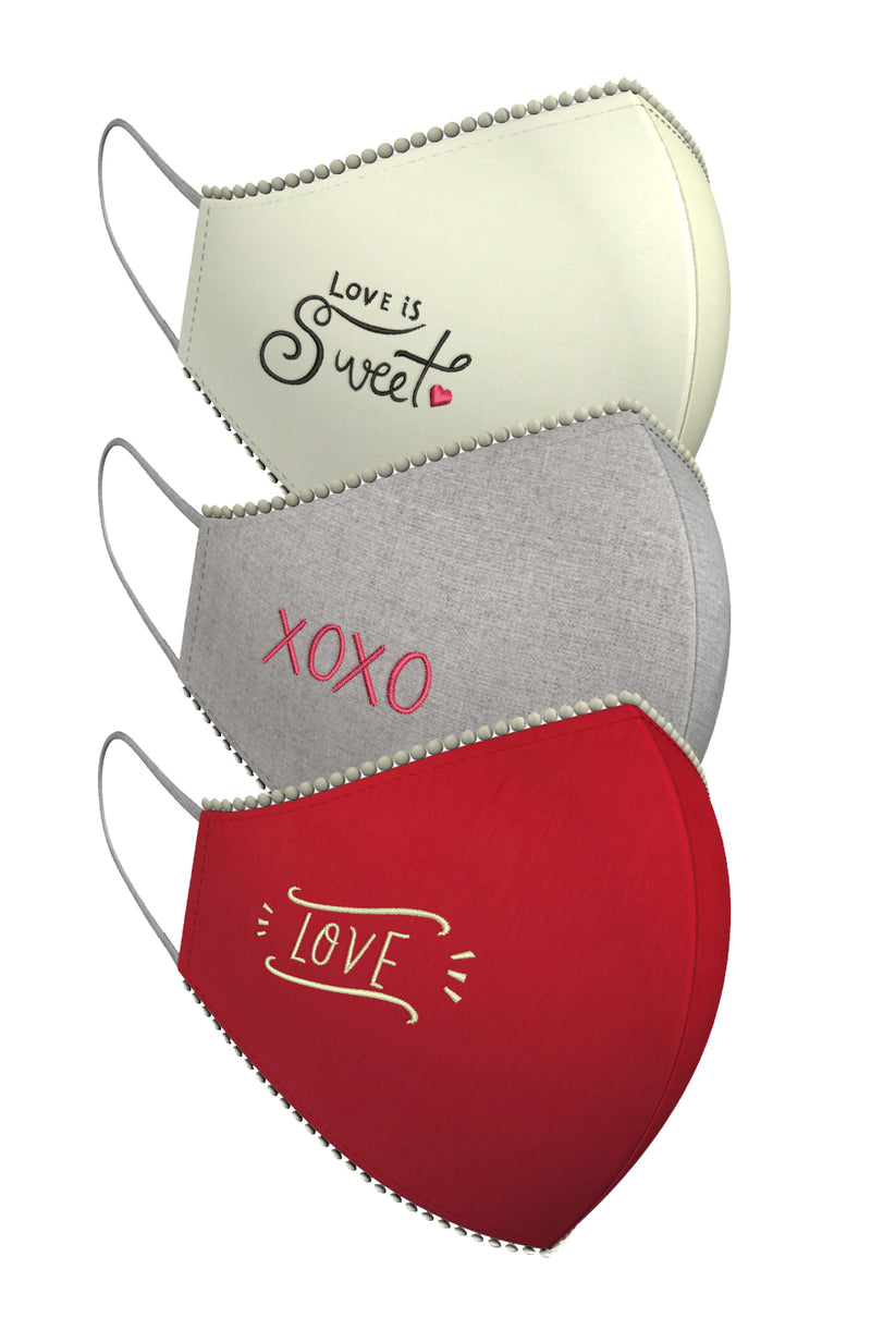 SPREAD THE LOVE | Set of 3-Masks-KAVERi