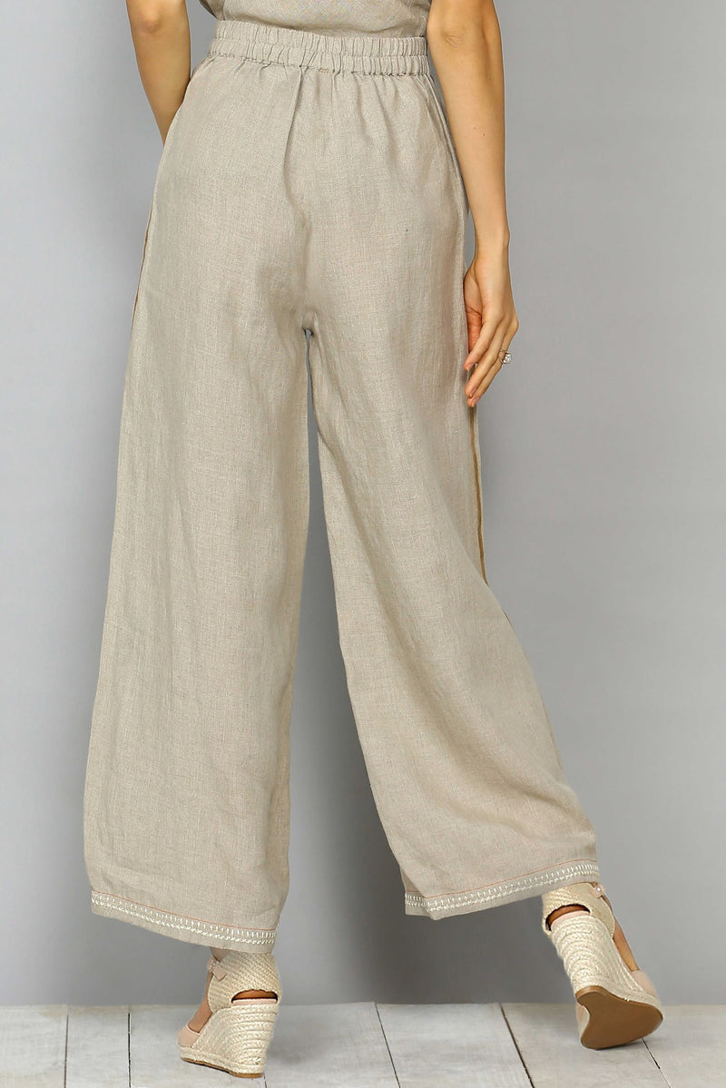 Gravel Natural Pant-Pants-KAVERi