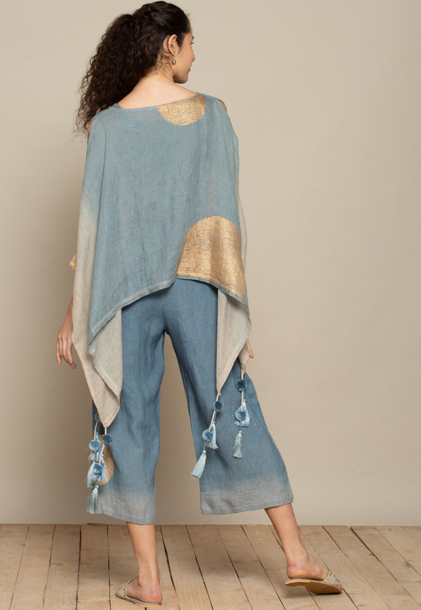 The Golden Dot Sky Pant-Pants-KAVERi