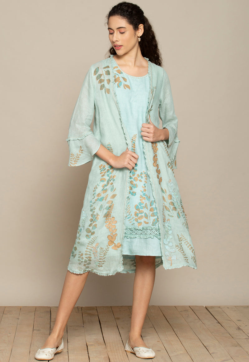 Vintage Garden Sloane and jacket set-Dresses-KAVERi