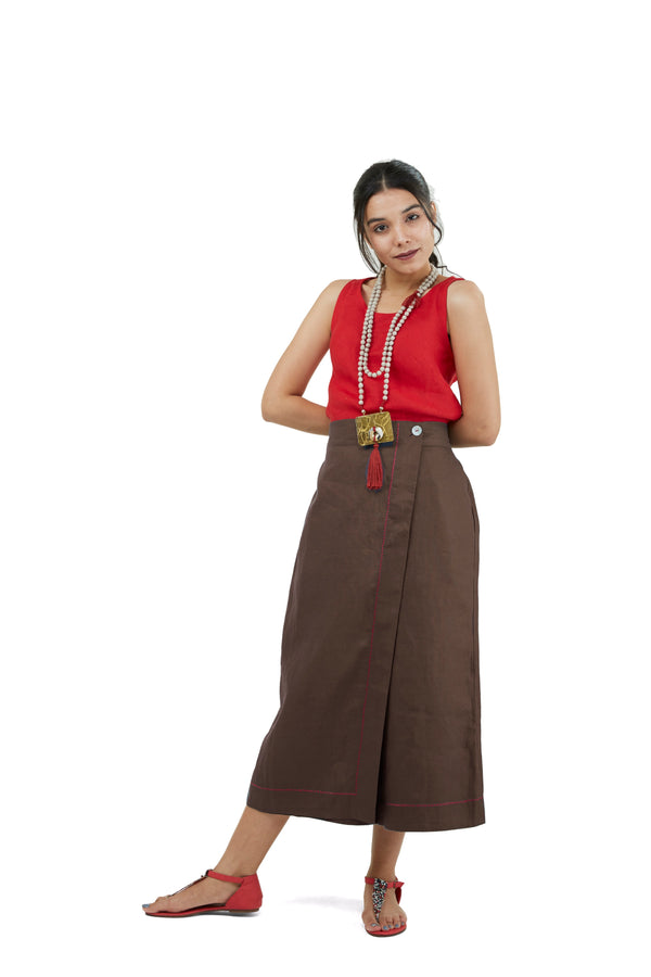 Pant Story Waiter Pants chocolate-Pants-KAVERi