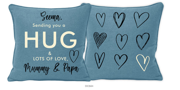 SENDING YOU LOVE | Set of 2 Cushions-Cushion-KAVERi