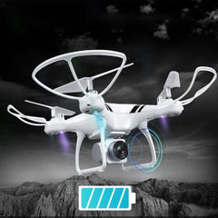RC Drone with Wifi FPV HD Adjustable Camera Altitude Hold One Key Return/Landing/ Off Headless RC Quadcopter Drone KY101S