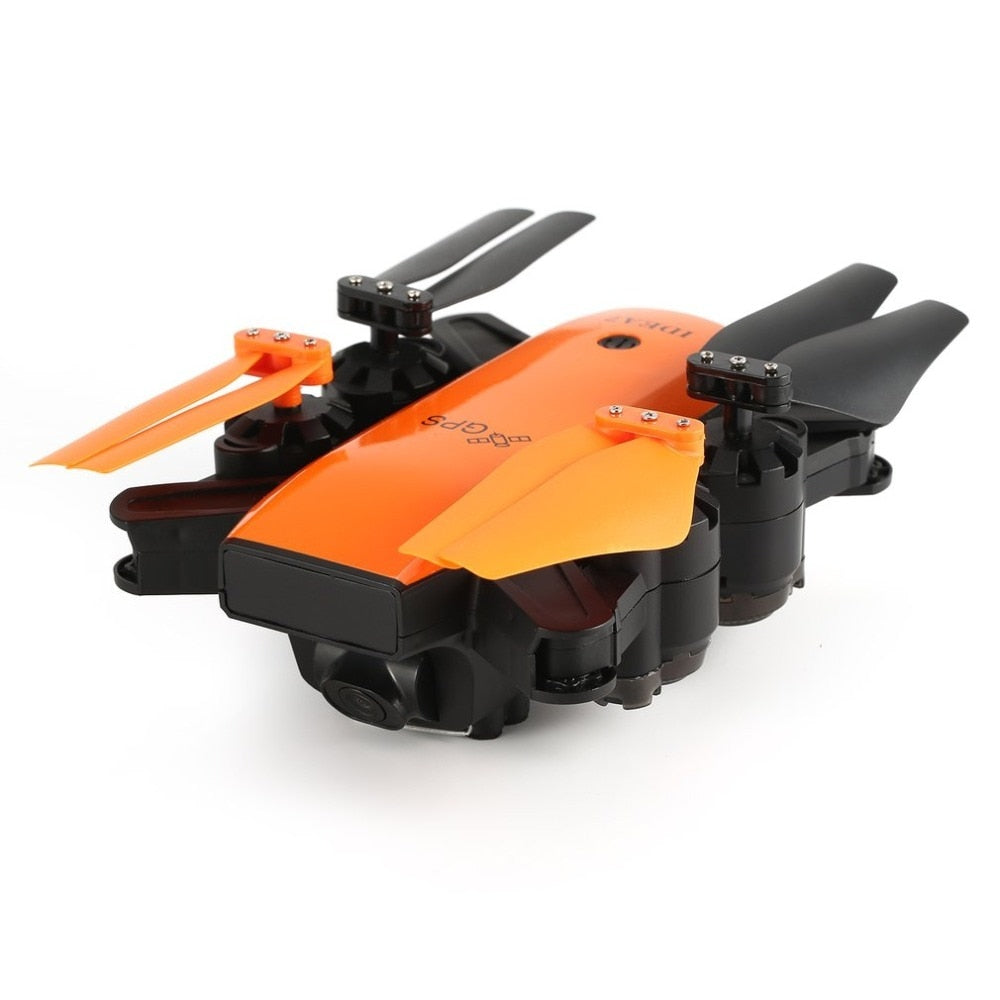 Le-idea IDEA7 2.4G RC Drone Foldable Quadcopter with 720P Wide Angle Wifi Camera GPS Altitude Hold Headless One Key Return