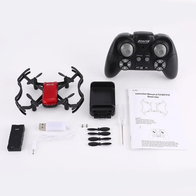 0.3MP Wifi Camera HD Wifi FPV Camera 2.4G RC Quadcopter Drone Real-time Quadcopter RC Drone with APP Remote Control dropshipping