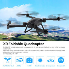 0.3MP Wifi Camera HD Wifi FPV Camera 2.4G RC Quadcopter Drone with APP Remote Control Quadcopter RC Drone dropshipping