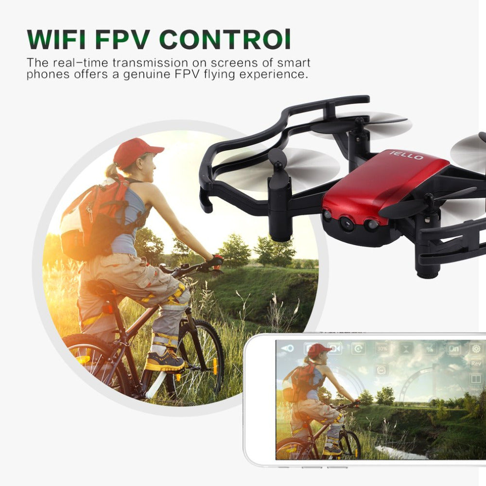 720P Wifi Camera HD Wifi FPV Camera 2.4G RC Quadcopter Drone Real-time Quadcopter RC Drone with APP Remote Control dropshipping