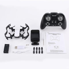 720P HD Wifi FPV Camera 2.4G RC Mini Quadcopter Drone Flow Positioning RC Drone Quadcopter with app control 3D flips