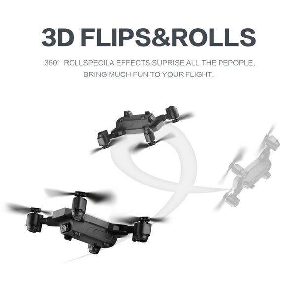 6 Axles Gyro Mini Wifi Drone With 120 Degree Wide Angle 5 Megapixel HD Camera SMRC S20W 2.4G Altitude Hold RC Quadcopter
