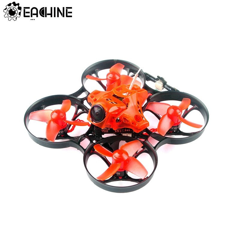 Newest Eachine TRASHCAN 75mm Crazybee F4 PRO OSD 2S Whoop FPV Racing Drone Caddx Eos2 Adjustable Camera 25/200mW VTX