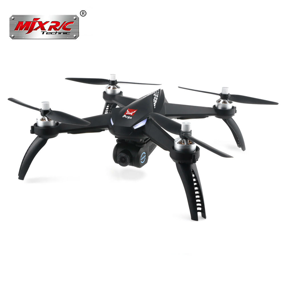 MJX Bugs B5W WiFi FPV 1080P Camera Drone Waypoints Point of Interest Altitude Hold One Key Follow RC Helicopter Remote Control