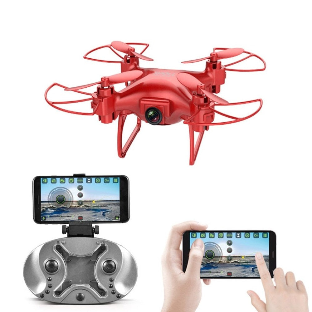 Mini RC Drone Remote Control Quadcopter with 2MP HD Camera Helicopter Headless Mode Gravity Sensor Aircraft S26