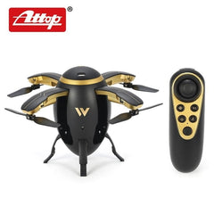 W5 Egg Drone Foldable Mini RC Quadcopter with Altitude Hold Headless Mode One Key Take Off Return for Kids Gift High Quality