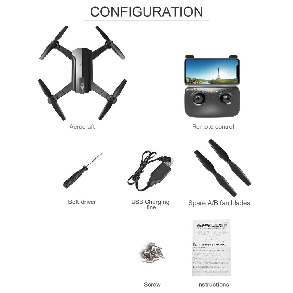 S8 720P/1080P WiFi Quadcopte Aircraft White Aircraft Headless Mode Remote Control Helicopter Mini Drone Quadcopter