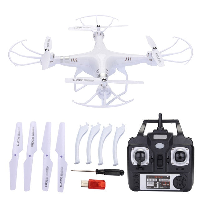 RC Quadcopter LED Light 360 Degree Explorer Headless Battery Remote Control Video Toys Drone Accessories Kits USB Charger Tripod
