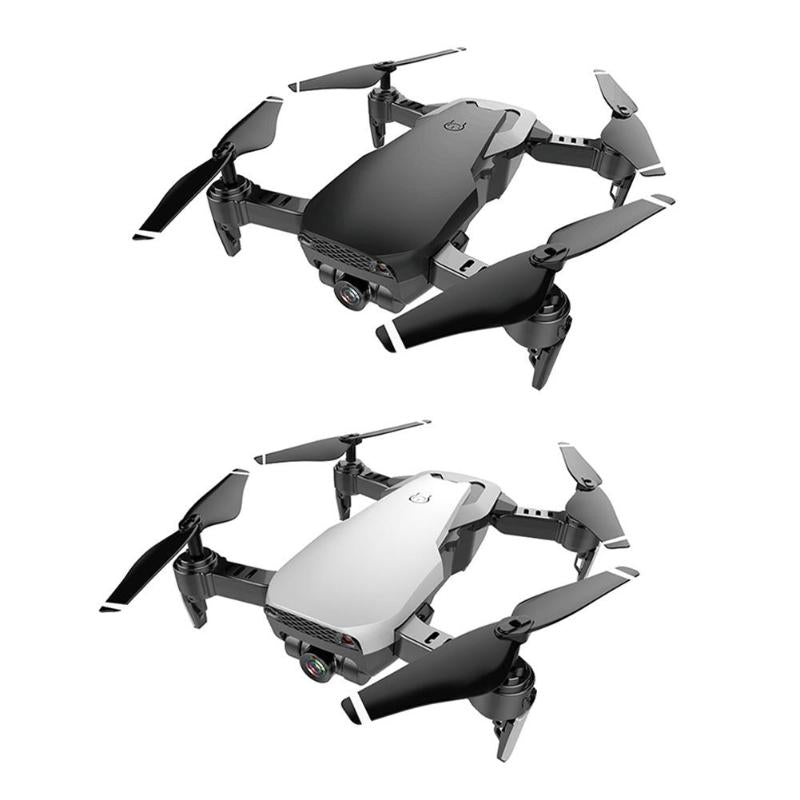 Foldable HD Optical Flow Localization Dual Camera Aerial Drone Aircraft Quadrocopter Drone Toys For Children