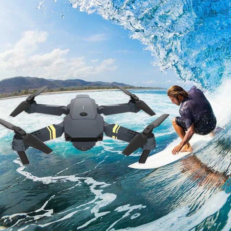 RC Airplane Plane Toys Kids Gifts Remote Control Folding Drone HD Real-time Aerial Photography Quadcopter Kit