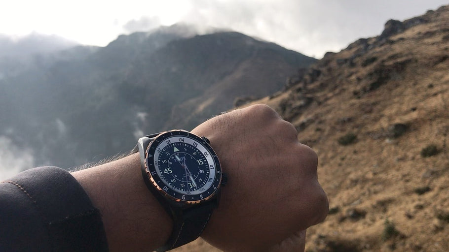 TWELF-X watch vs Desert – Survival Tips in a Desert – Stay cool