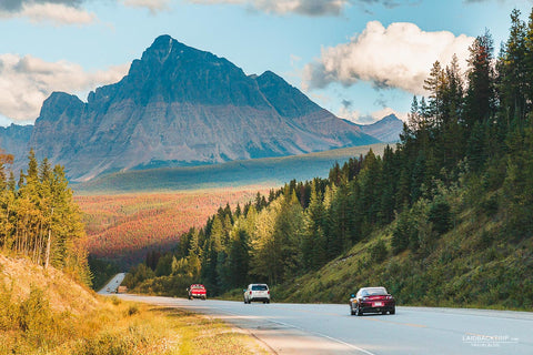 road trip past the canadian rockies