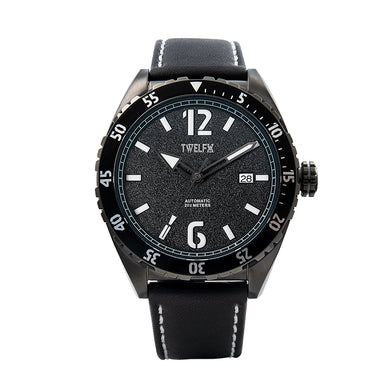 TWELF-X OCEAN 1908 DEEP WAVE - BLACK/GUNMETAL Front