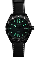 Load image into Gallery viewer, TWELF-X OCEAN 1908 DEEP WAVE - BLACK/GUNMETAL Lume