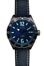 Load image into Gallery viewer, TWELF-X OCEAN 1908 DEEP WAVE - BLUE/STAINLESS STEEL Lume