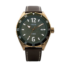 Load image into Gallery viewer, TWELF-X OCEAN 1908 DEEP WAVE - GREEN/BRONZE Front