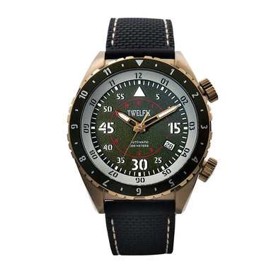 TWELF-X SKY 1914 AUTO FLYER - GREEN/BRONZE Front