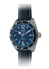 Load image into Gallery viewer, TWELF-X OCEAN 1908 DEEP WAVE - BLUE/STAINLESS STEEL Slanted