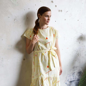 Andrea Maxi Dress - Lemon