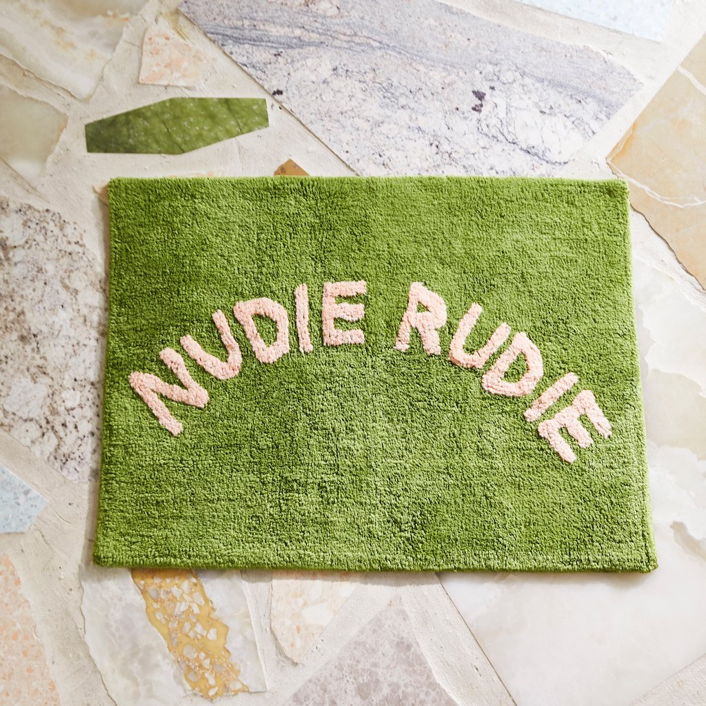 Tula Nudie Bathmat - Pickle