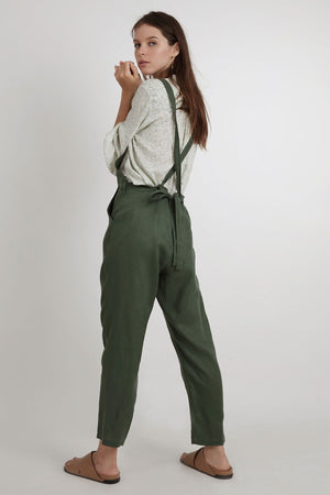Calliope Jumpsuit - Forest